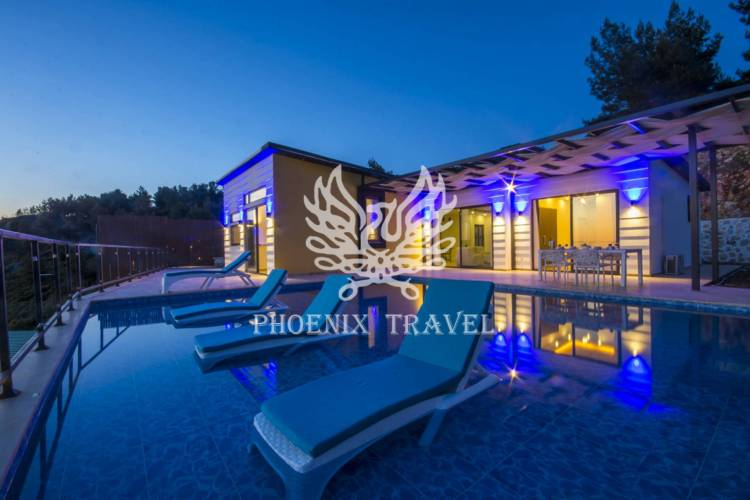 Doğanın İçinde Yeni Yapılmış 4 Kişilik Villa Polen