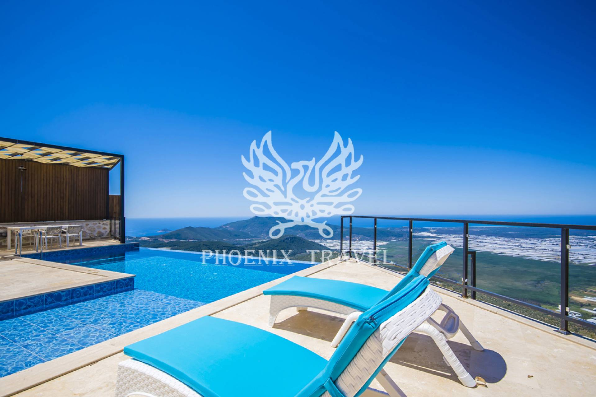 Muhteşem Patara Kum Manzarası ile Villa Kovan